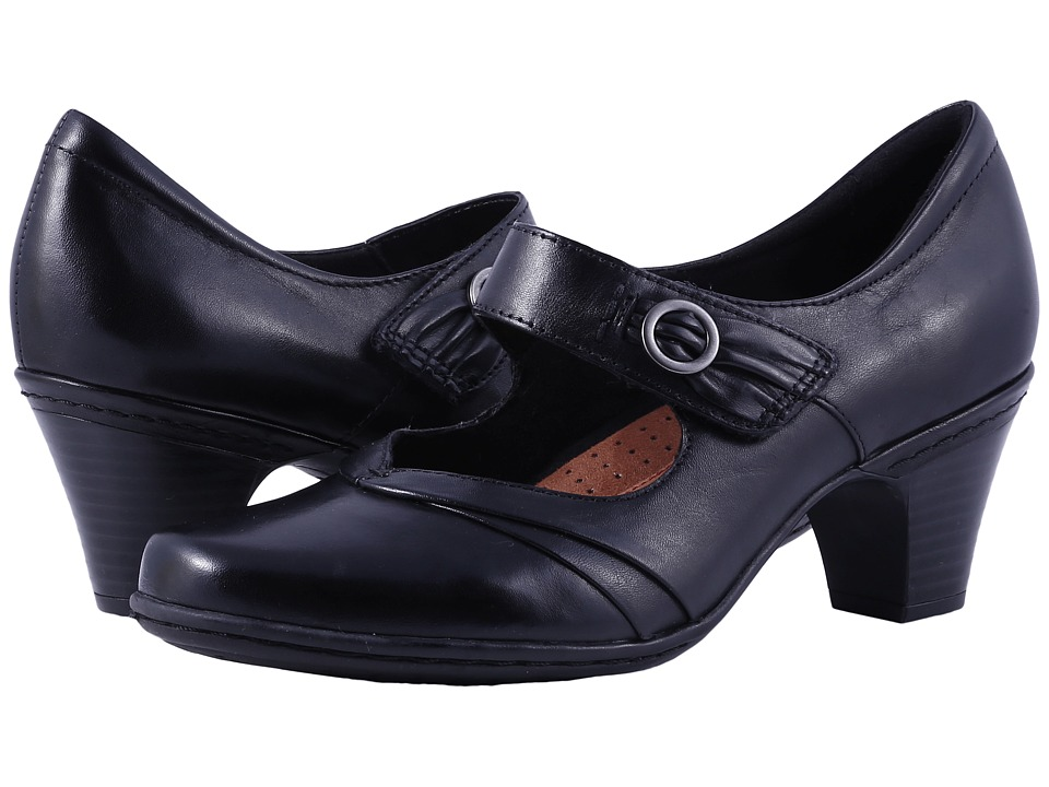 Cobb Hill Salma Black Womens Maryjane Shoes