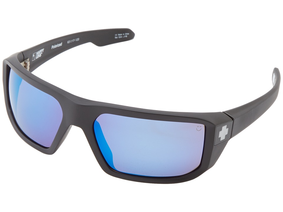Spy Optic - McCoy (Matte Black/Happy Bronze Polar w/ Blue Spectra) Sport Sunglasses