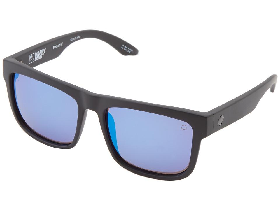 Spy Optic Discord Matte Black/Happy Bronze Polar w/ Blue Spectra Sport Sunglasses