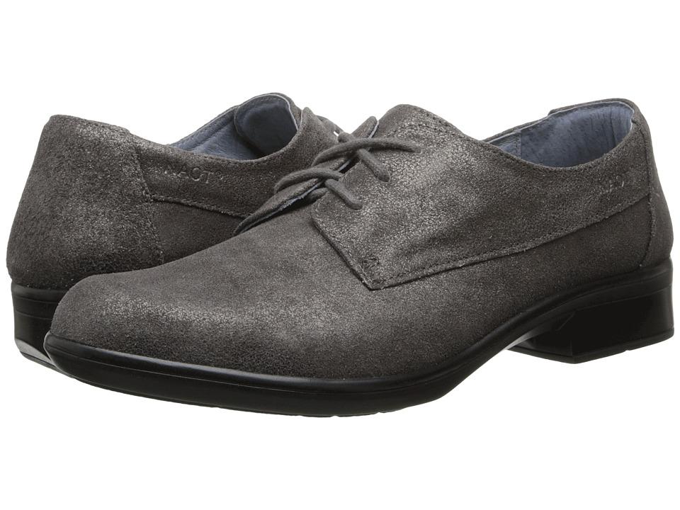Naot Footwear - Kedma (Gray Shimmer Leather) Women