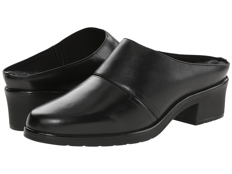 Walking Cradles Caden (Black Nappa Leather) Women's Clogs