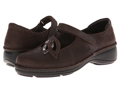 Naot Footwear Primrose - Mine Brown Leather/Shiitake Patent Leather