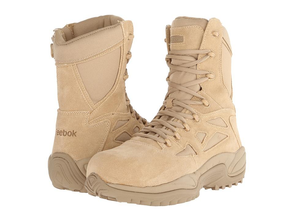 Reebok Work - Rapid Response RB 8 CT (Tan) Men's Work Boots
