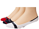 Sperry Top-Sider - Signature Stripes 3 Pack (Navy/Tango) - Footwear