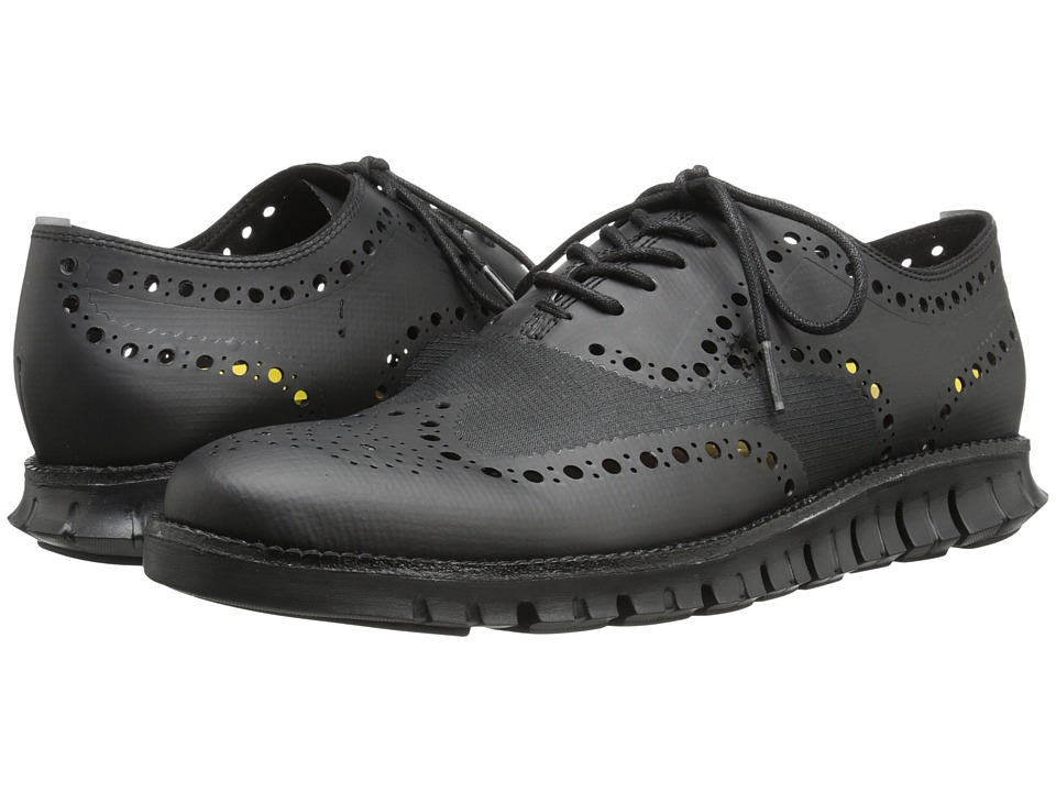 Image of Cole Haan Cole Haan Zerogrand OX No Stitch (Black) Men's Lace Up Wing Tip Shoes