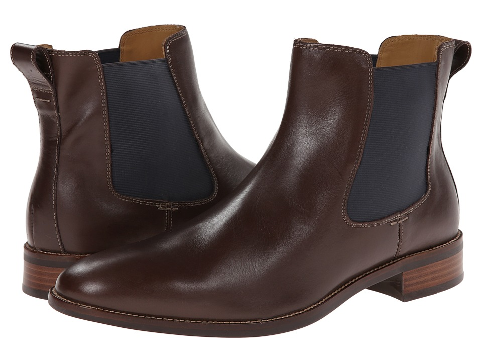 Cole Haan Lenox Hill Chelsea (Chestnut Waterproof) Men