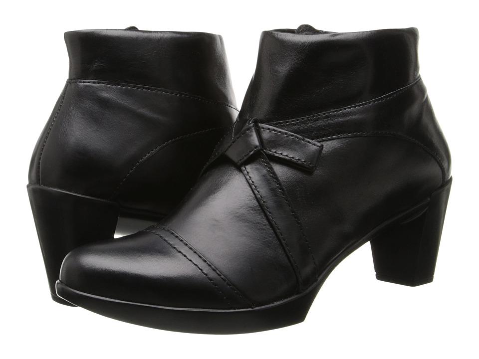 Naot Footwear Vistoso (Black Madras Leather) Women
