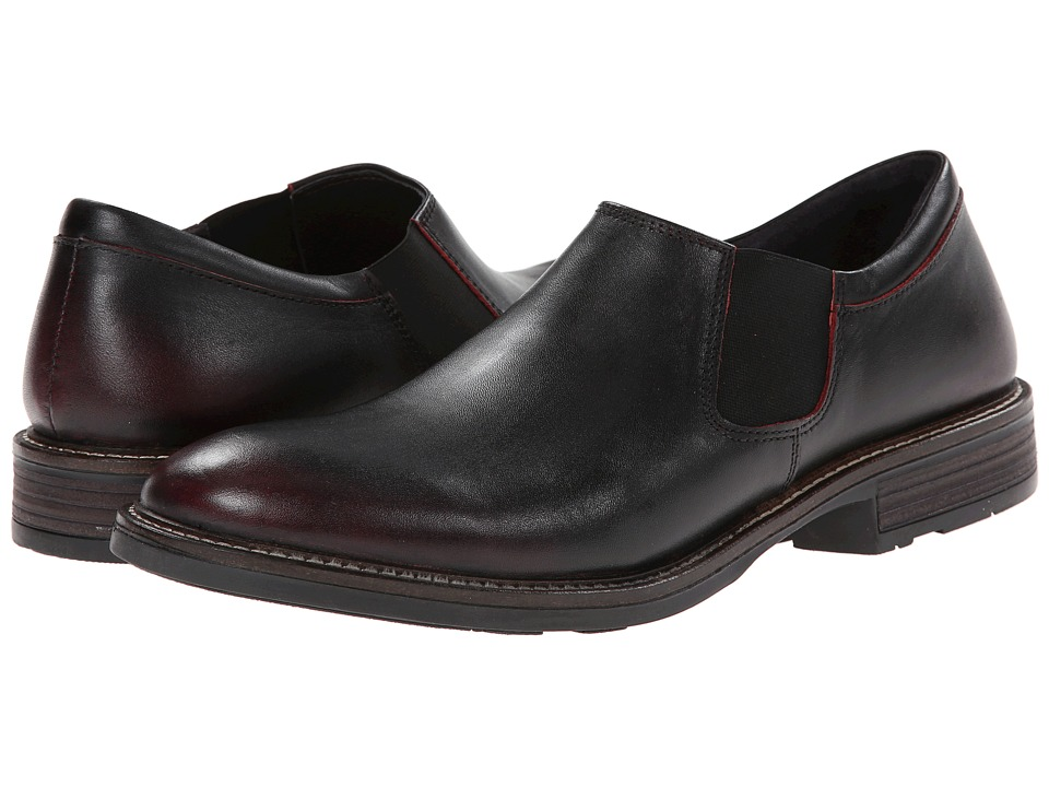 Naot Footwear - Director (Volcanic Red Leather) Men