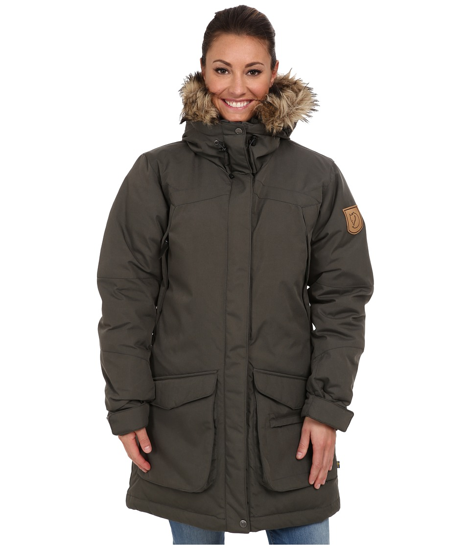 Fjallraven Kyla Parka (Mountain Grey) Women