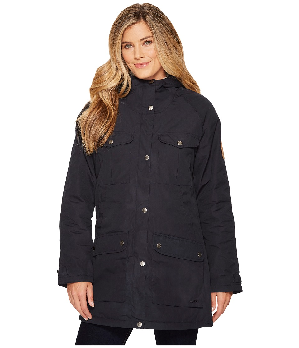 Fjallraven - Greenland Winter (Dark Navy) Womens Clothing