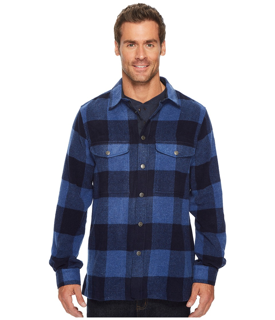 Fjallraven - Canada Shirt (Uncle Blue) Mens Coat