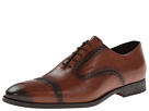Geox U New Life 10 (Cognac) Men's Lace Up Wing Tip Shoes