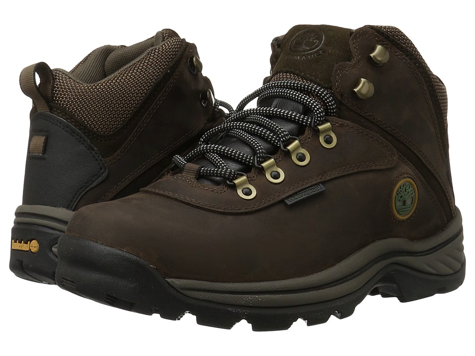 Timberland White Ledge Mid Waterproof (Brown) Men's Hikin...