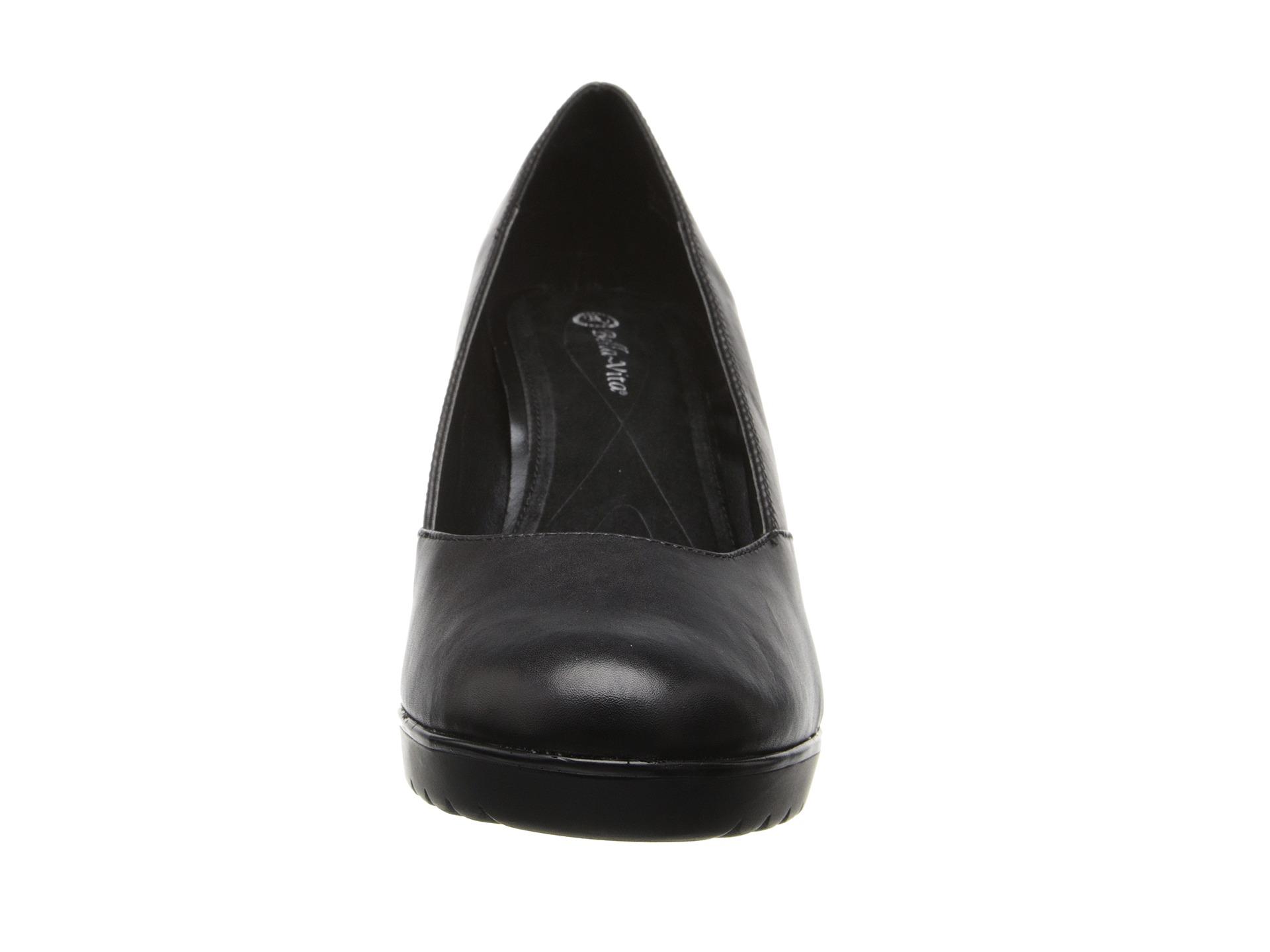 Bella Vita Zari Black Leather Free Shipping