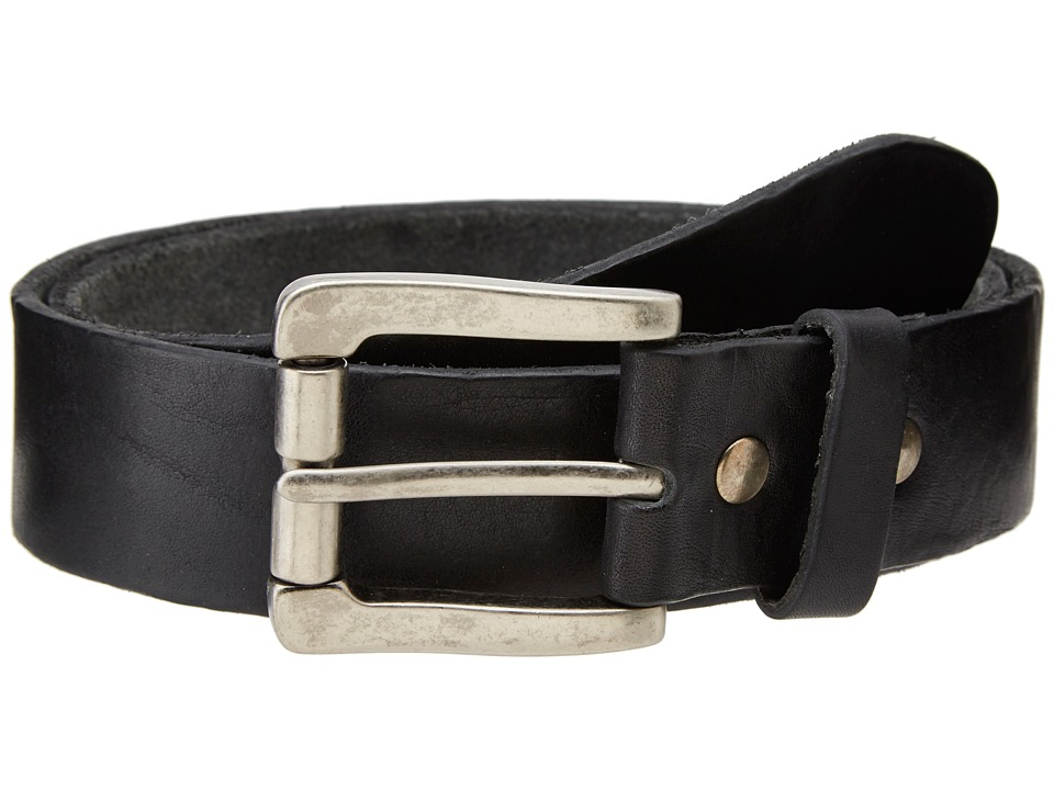 Bill Adler 1981 Classic Vintage Black Mens Belts