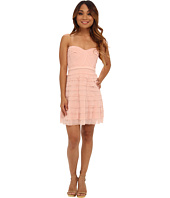 BCBGMAXAZRIA - Petite Cocco Tiered Strapless Dress