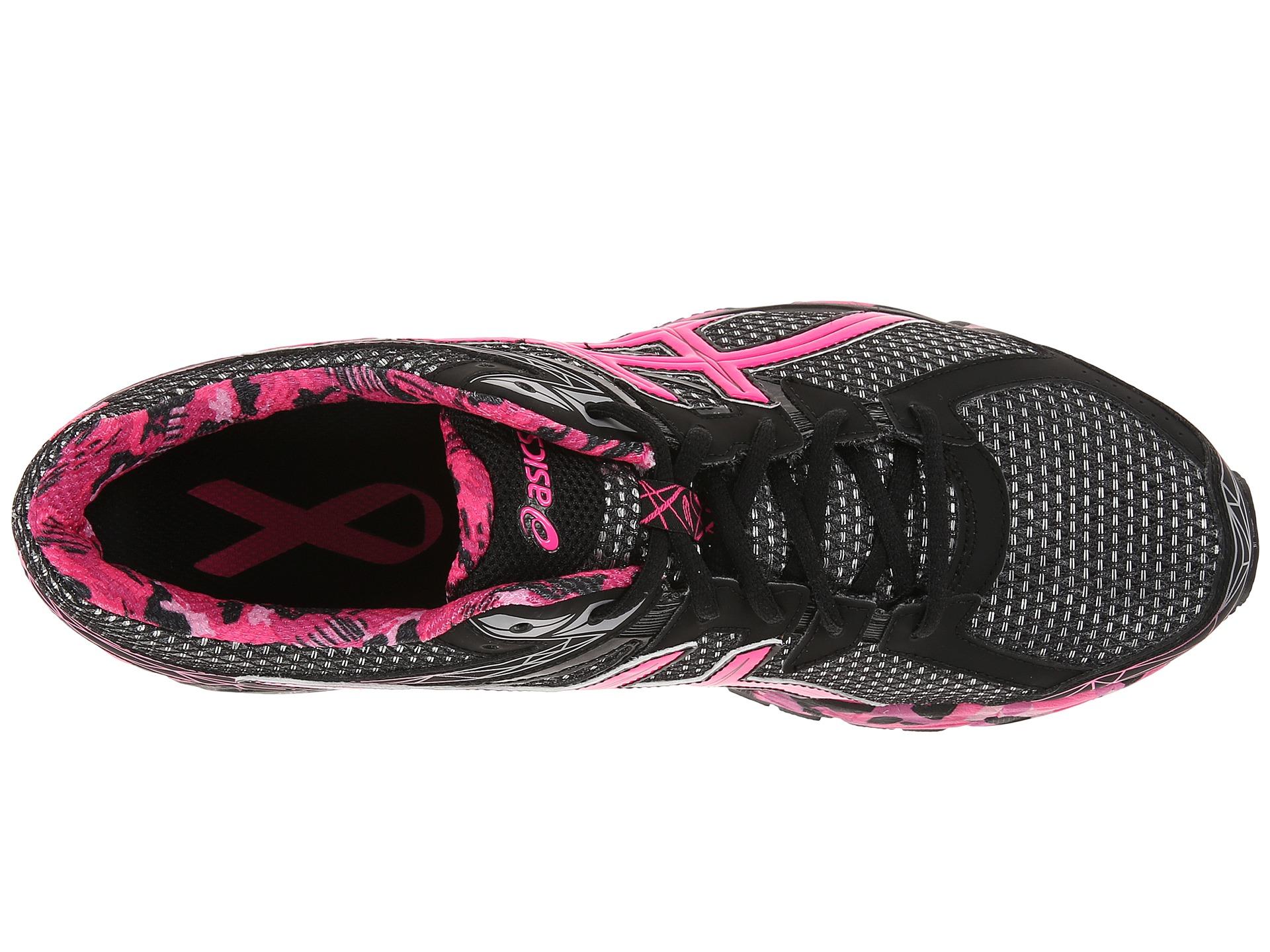 asics gt 1000 3 pr black pink pink ribbon zappos