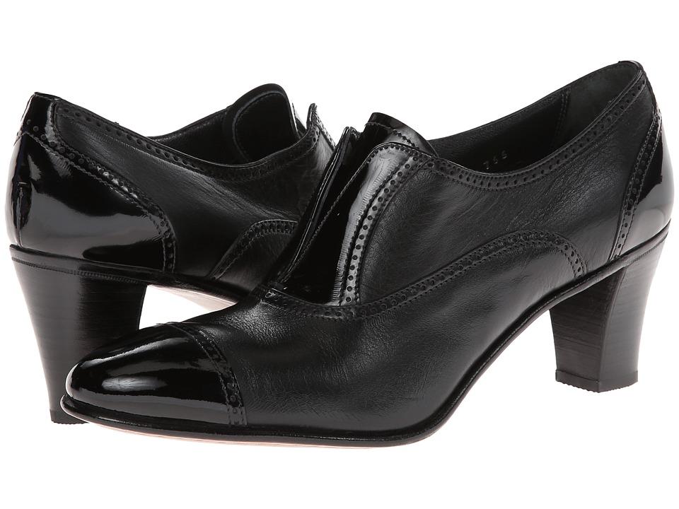 Gravati - Cap Toe Mid-Heel (Black) High Heels