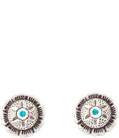 M&F Western - Star Concho w/ AB Stone Earrings