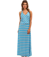 Michael Stars - Mercer Stripe Maxi Dress w/ Twist Back