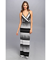 Michael Stars - Delancy Stripe Surplice Maxi Dress
