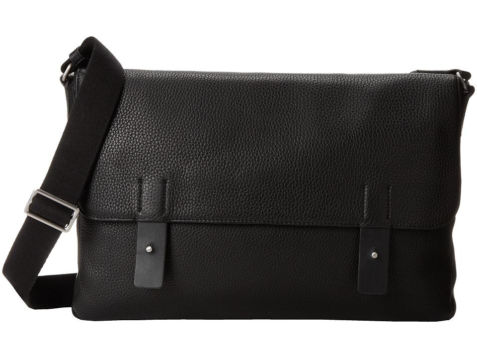 ECCO - Ely Messenger (Black) Messenger Bags