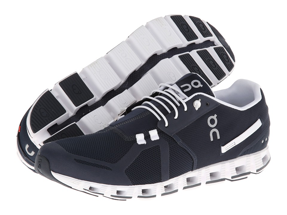 On Cloud Navy/White Mens Running Shoes