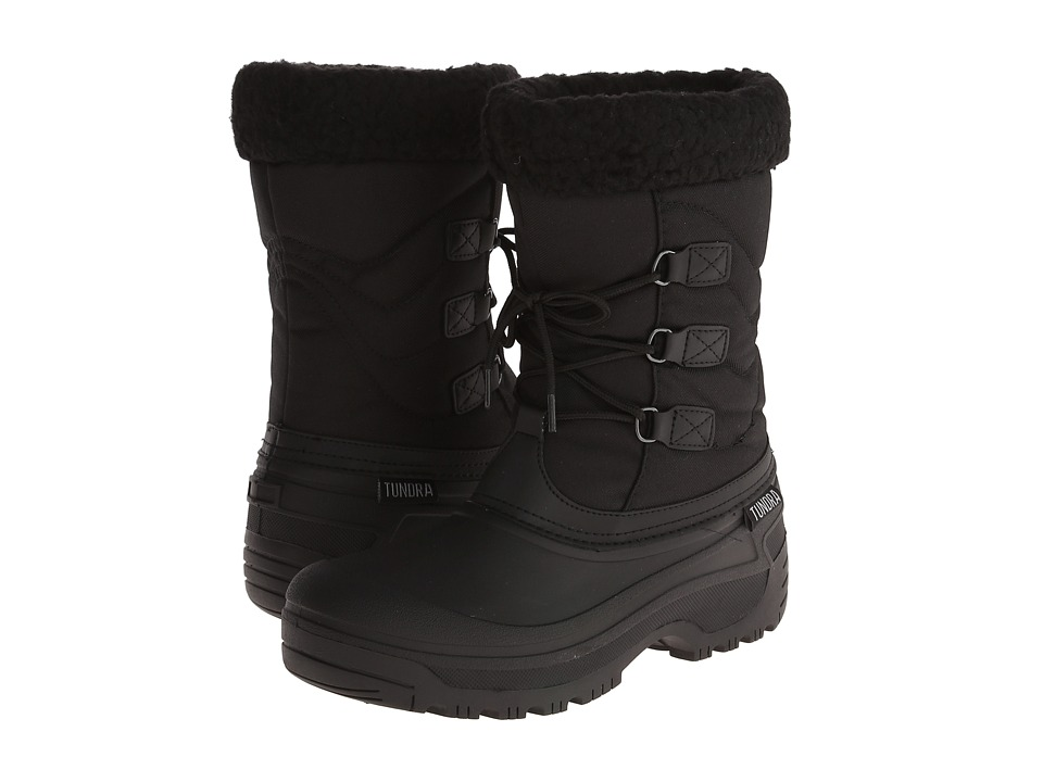 Tundra Boots Dot (Black) Women