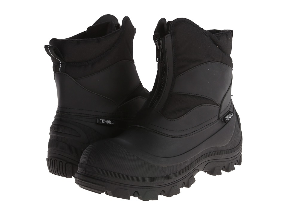 Tundra Boots Mitch Black Mens Cold Weather Boots