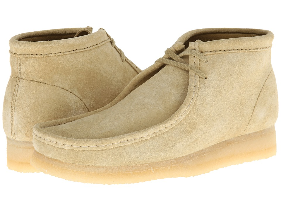 Clarks Wallabee Boot Maple Suede Mens Lace up Boots
