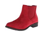 Scout Red Velour Footwear Watch
