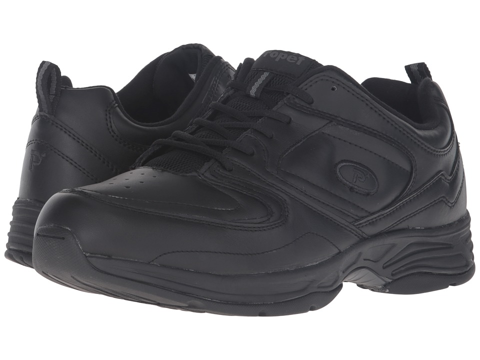 Propet - Warner (Black) Mens Shoes