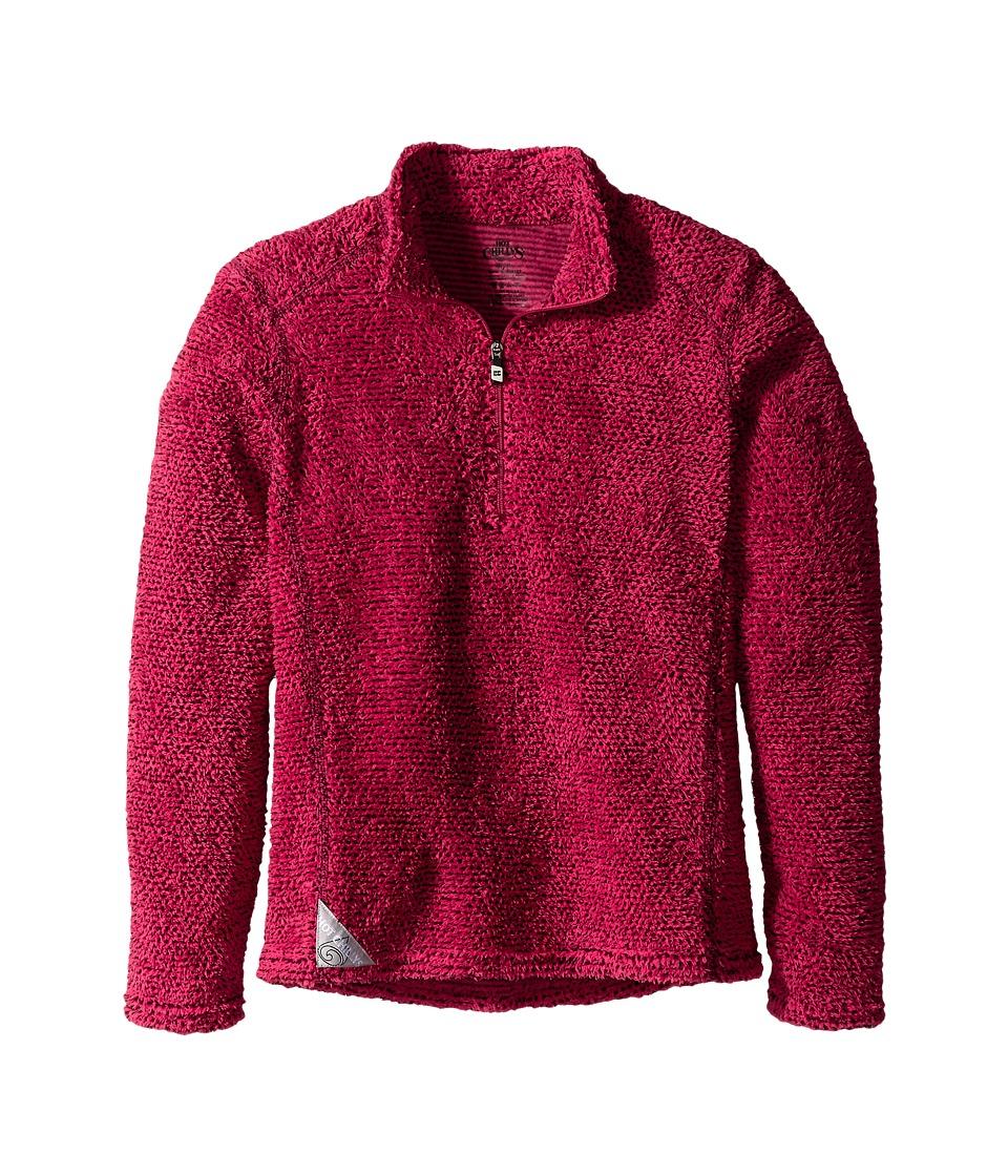 Hot Chillys Kids Pico Zip T Little Kids/Big Kids Rose Girls Sweater