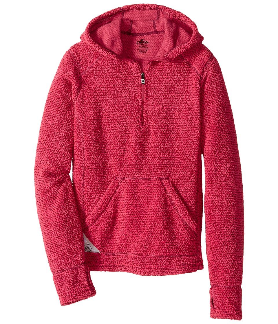 Hot Chillys Kids Pico Hoodie Little Kids/Big Kids Rose Girls Long Sleeve Pullover