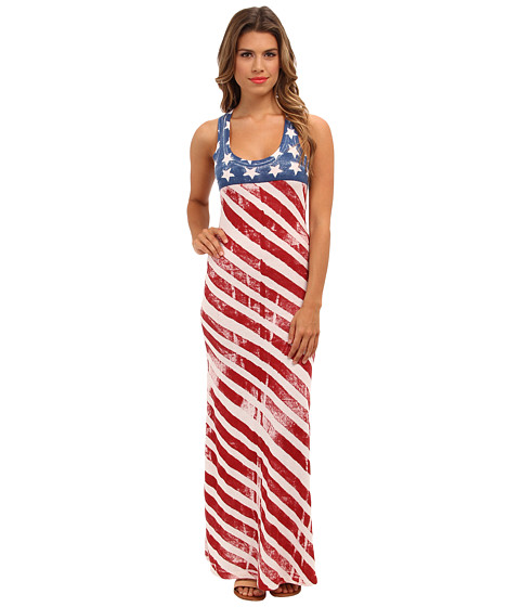 Alternative Printed Monroe Maxi Dress American Dot 6pm Com