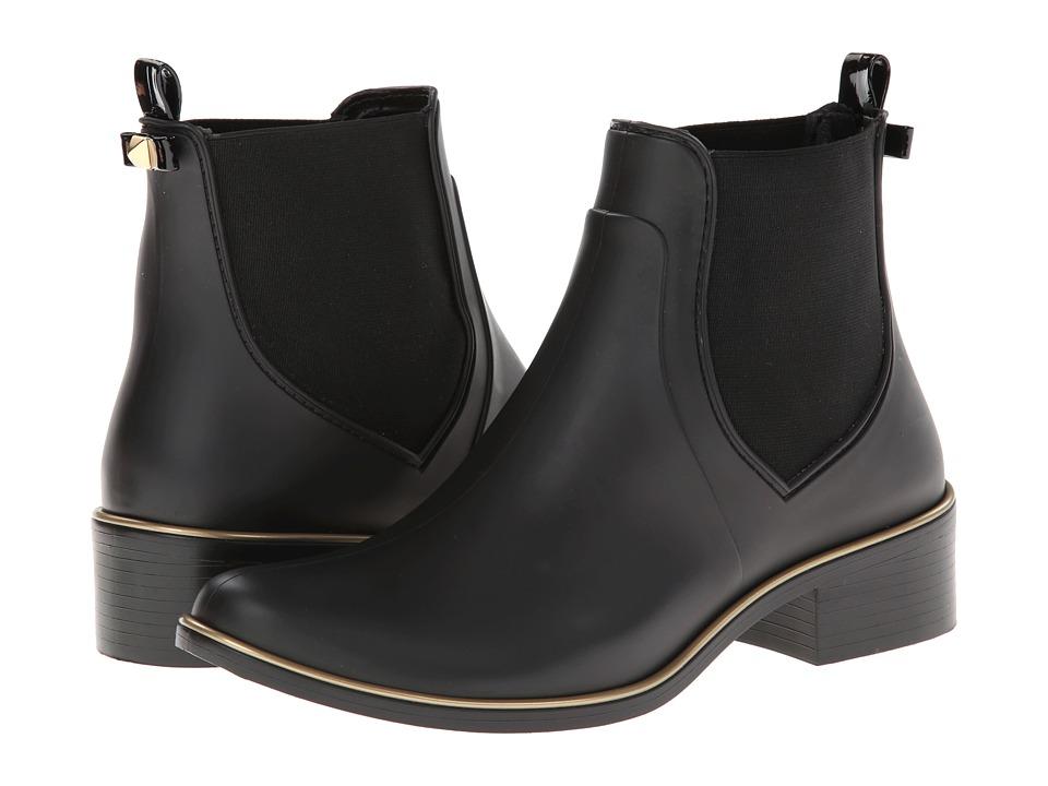 Kate Spade New York - Sedgewick (Black Matte Rubber) Womens Pull-on Boots