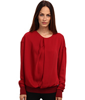 CoSTUME NATIONAL - Drape Front Sweatshirt