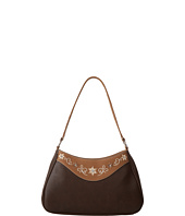 M&F Western - Embroidered Flower Small Shoulder Bag