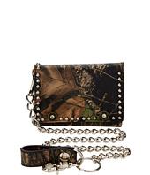 M&F Western - Mossy Oak Camo Tri-Fold Wallet w/ Chain