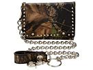 M&F Western Mossy Oak Camo Tri-Fold Wallet w/ Chain (Mossy Oak Camo)