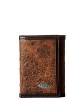 M&F Western - Nocona Vintage Ostrich Tri-Fold Wallet