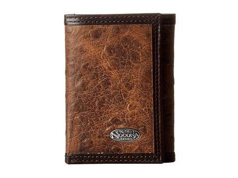 M&F Western Nocona Vintage Ostrich Tri-Fold Wallet