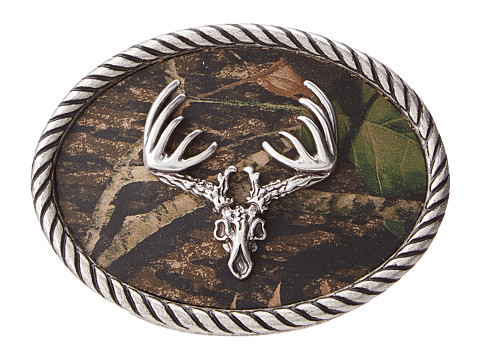 M&F Western Deer Skull Mossy Oak Camo Buckle