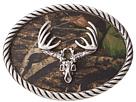 M&F Western - Deer Skull Mossy Oak Camo Buckle