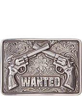M&F Western - Wanted Buckle