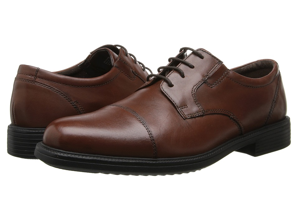 Bostonian - Bardwell Limit (Brown Leather) Mens Lace Up Cap Toe Shoes