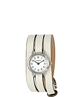 COACH - Dree Triple-Wrap Leather Strap Watch