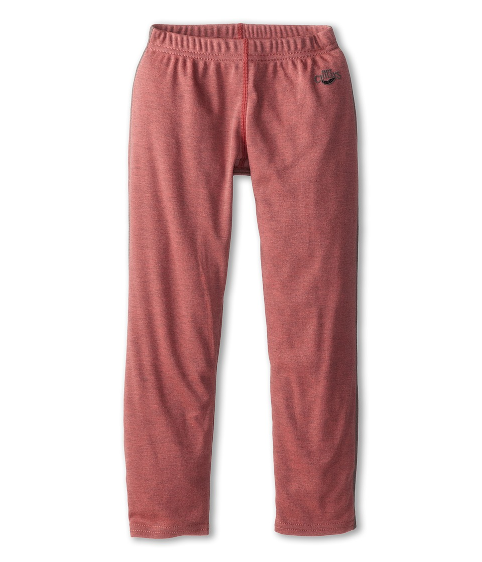 Hot Chillys Kids Geo Bottom Toddler/Little Kids/Big Kids Rose Heather Girls Casual Pants