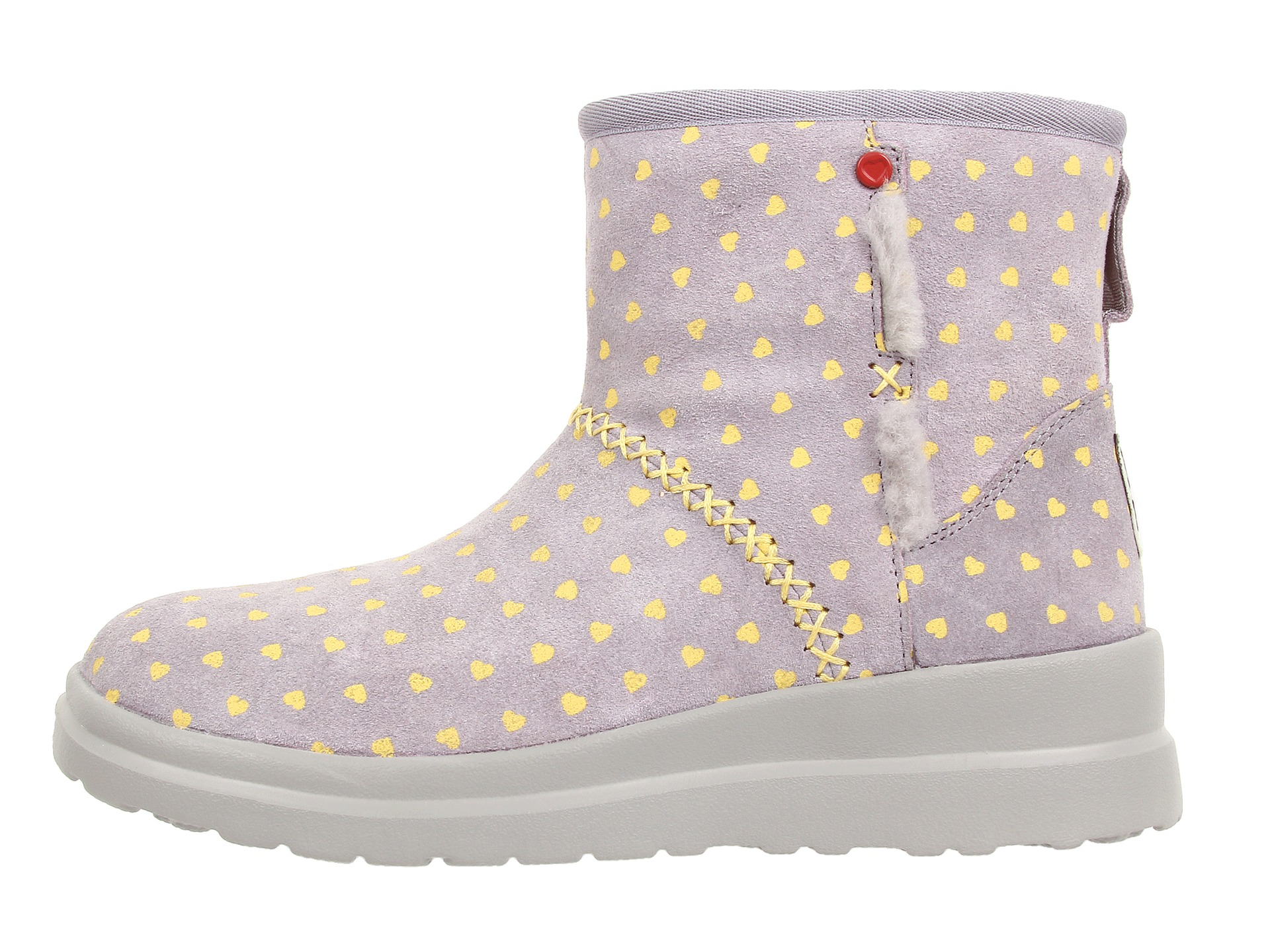 for Sale I Heart Ugg Kisses Mini Hot Chili Suede Promotion