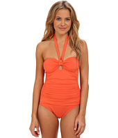 Tommy Bahama - Pearl Solids Keyhole Halter Cup One-Piece